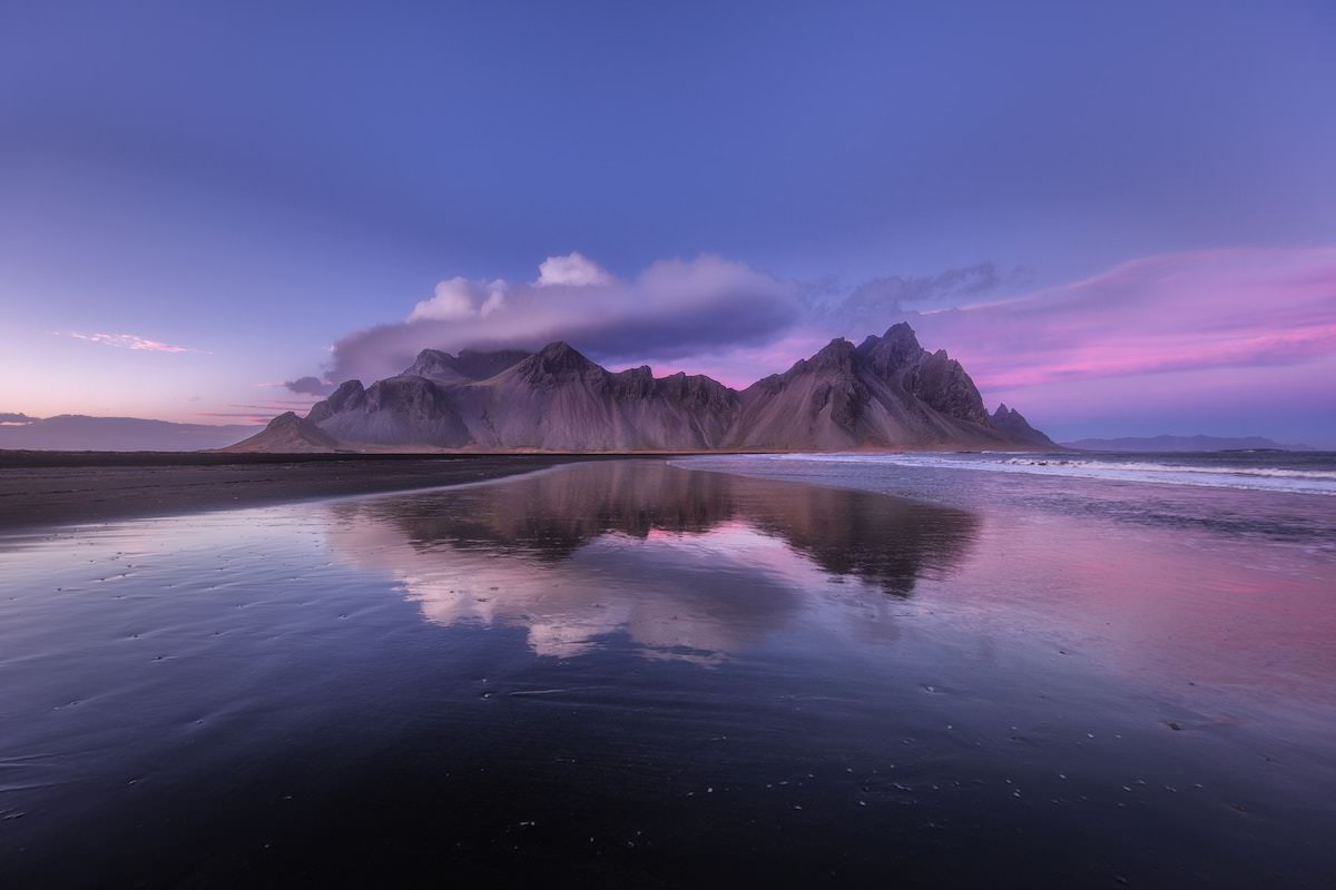 The most famous mountains in iceland, Vestrahorn