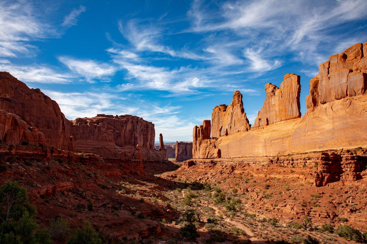 The best photography spots in arches national park, park avenue