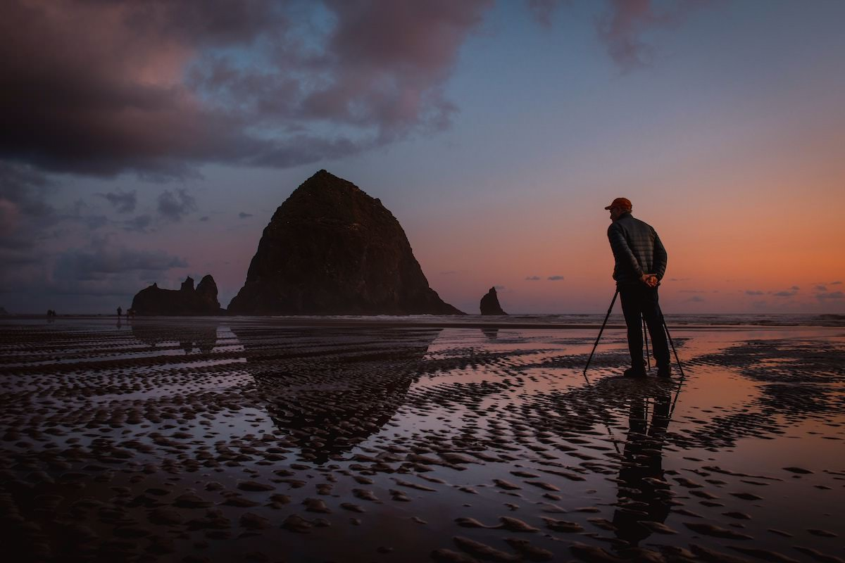 where is cannon beach oregon, best photography spots on the oregon coast