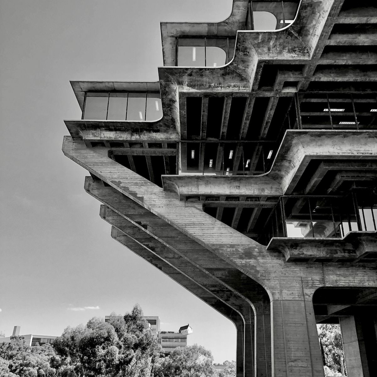 Geisel Library location best photography spots in san diego california