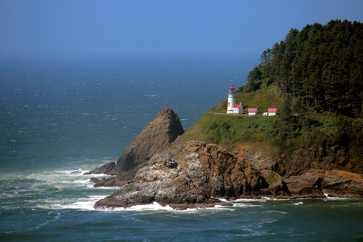 best photography spots on the oregon coast, where is heceta head lighthouse exact location