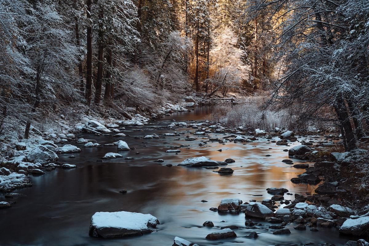 best locations for photography in yosemite national park Merced River