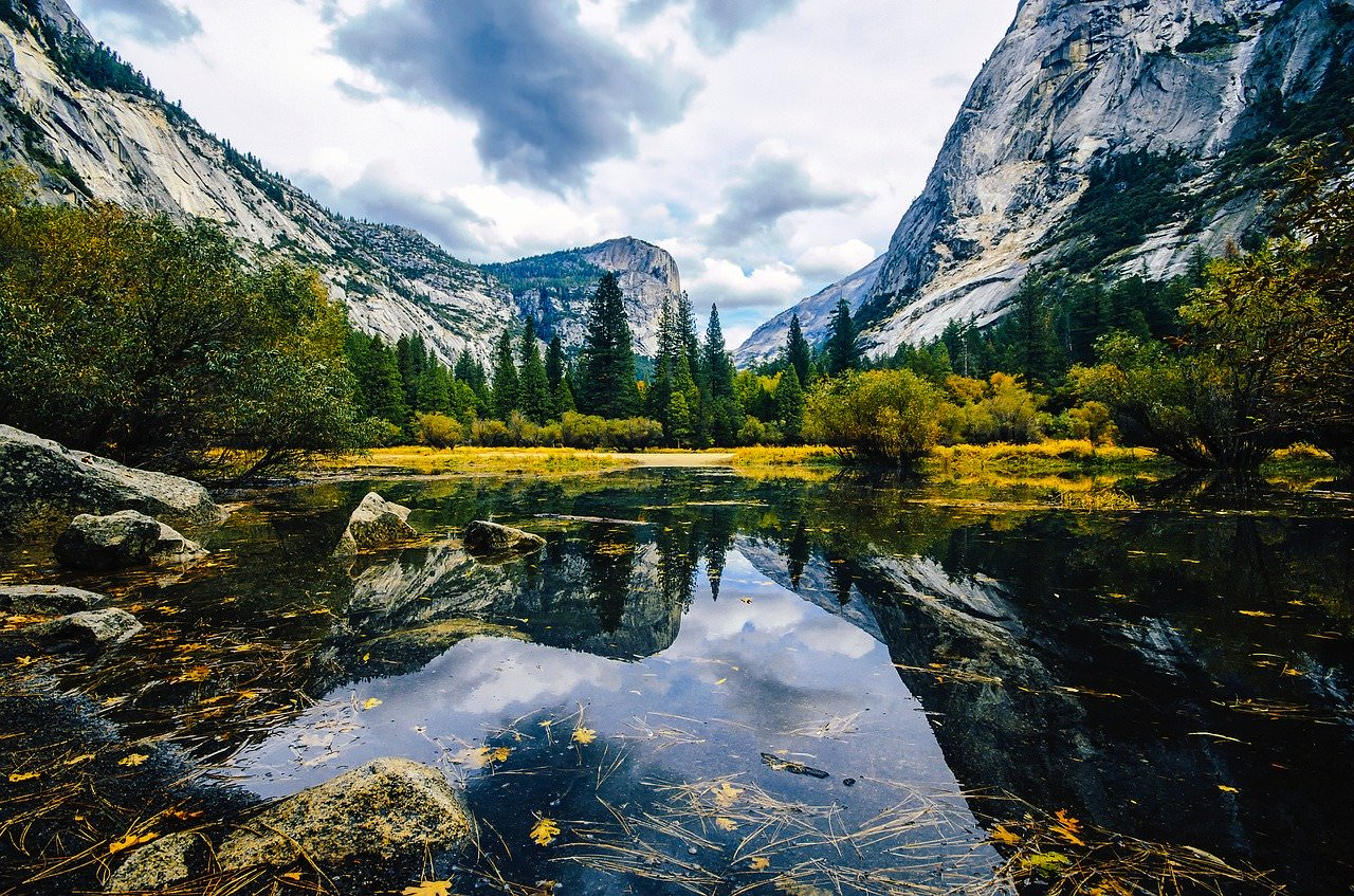 best photography spots in yosemite, where is mirror lake