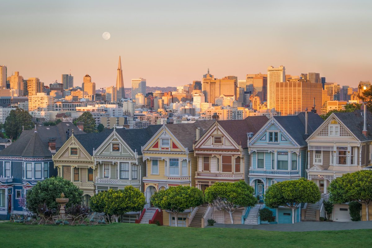 best photography spots in san francisco california the painted ladies