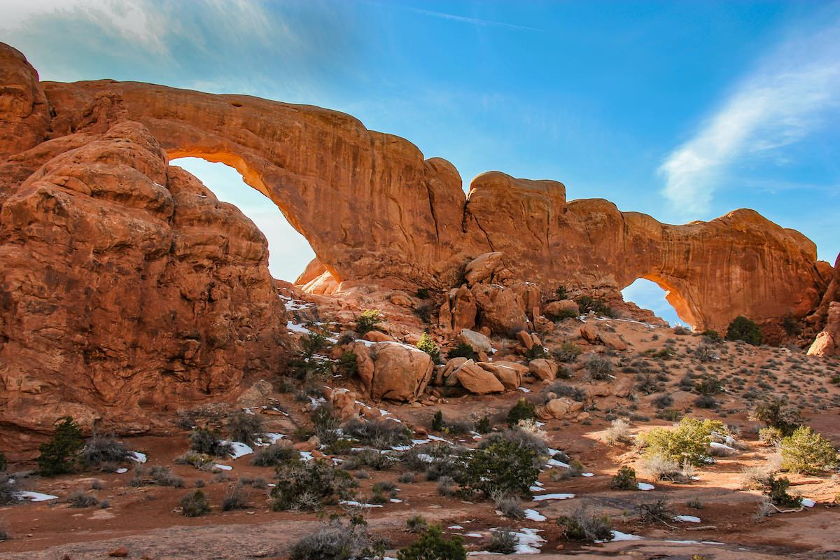 the windows arches national park best photography location maps