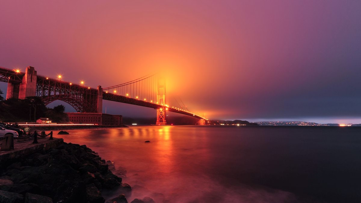 best photography spots to photograph the golden gate