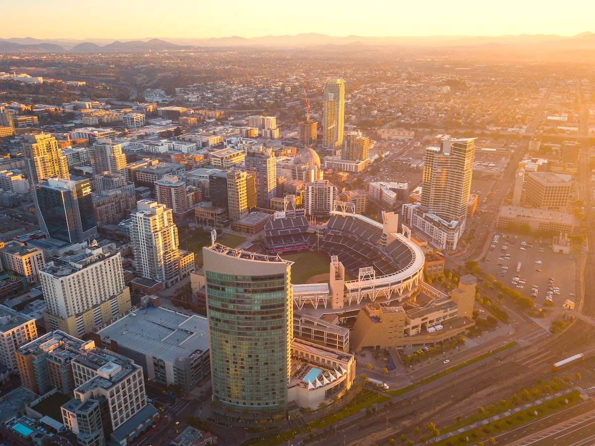 best photography spots in san diego california, drone photos of san diego california