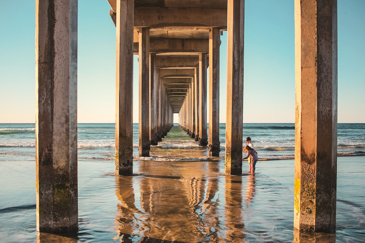 best photography spots in san diego california, sunset cliffs, scripps pier peter lik