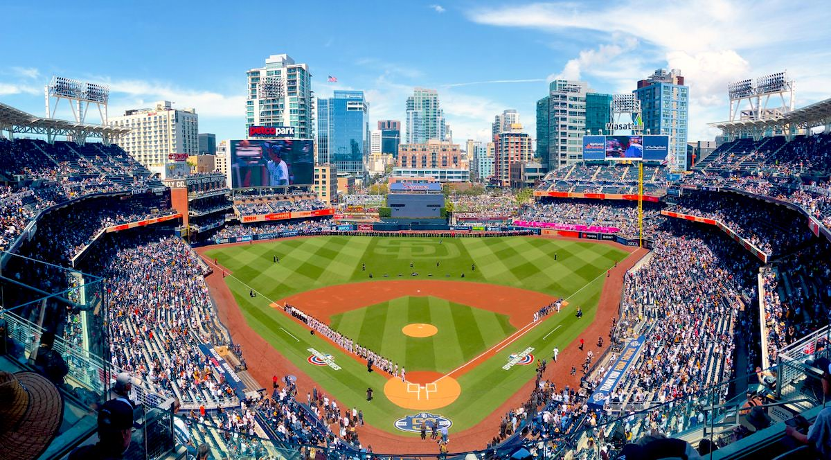 best photography spots in san diego california, petco park