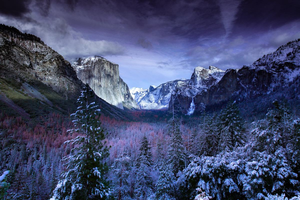Best photography spots in Yosemite national park