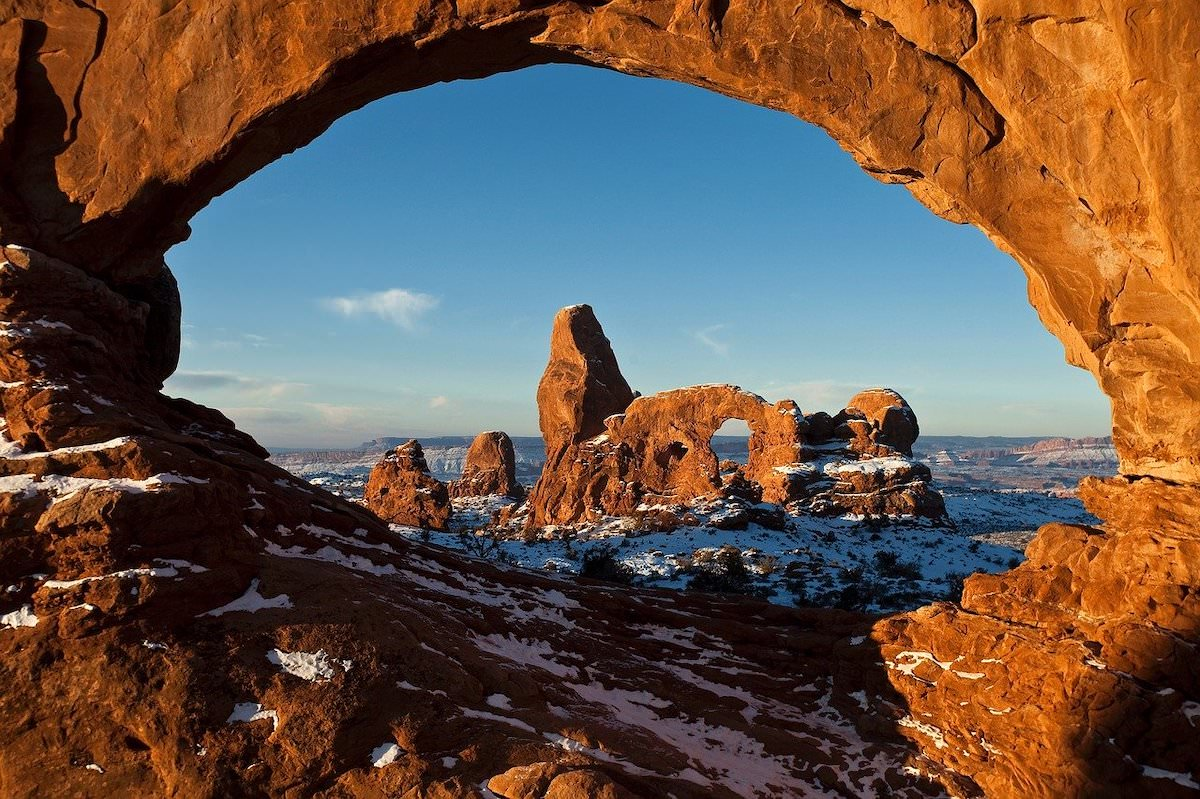the best photography spots in arches national park, turret arch