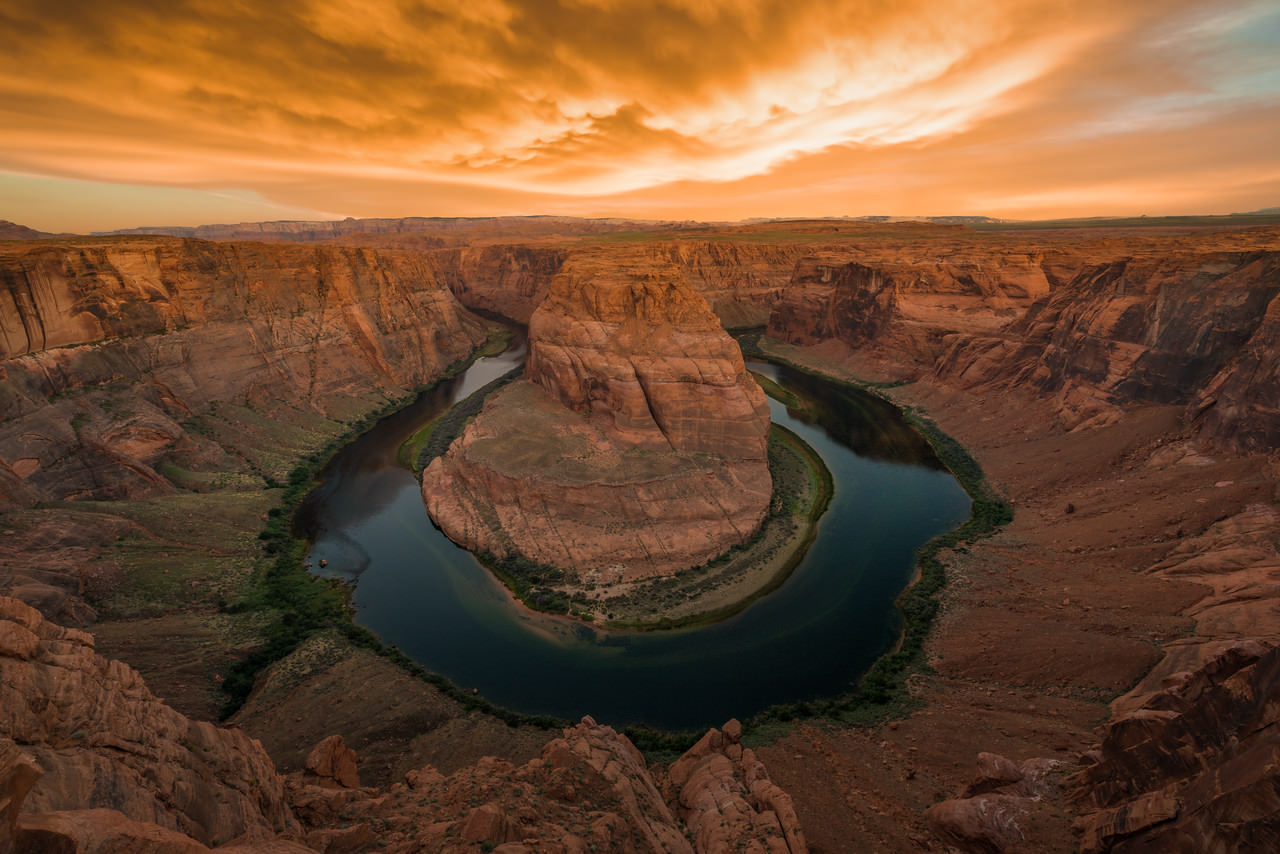 Horse shoe bend, Best Photography Spots in the Grand Canyon National Park
